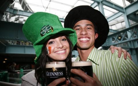 Guinness Storehouse i Dublin på Irland