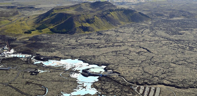 Blå Lagunen i Grindavik på Island.