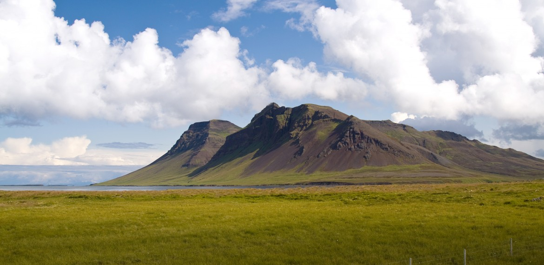 Snaefellsnes på västra Island