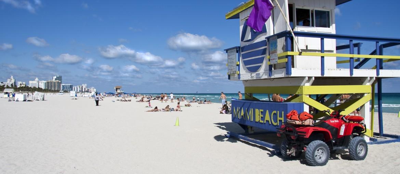 Miami Beach i Florida, USA