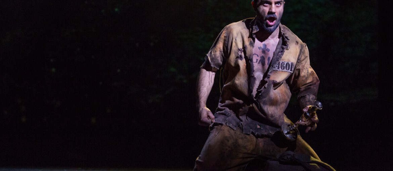 Les Miserables på Broadway i New York, USA