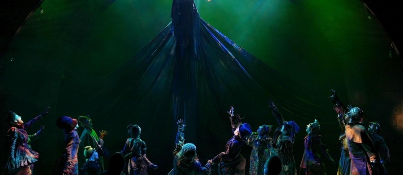 Wicked på Broadway i New York, USA.