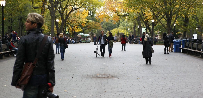 Central Park i New York, USA