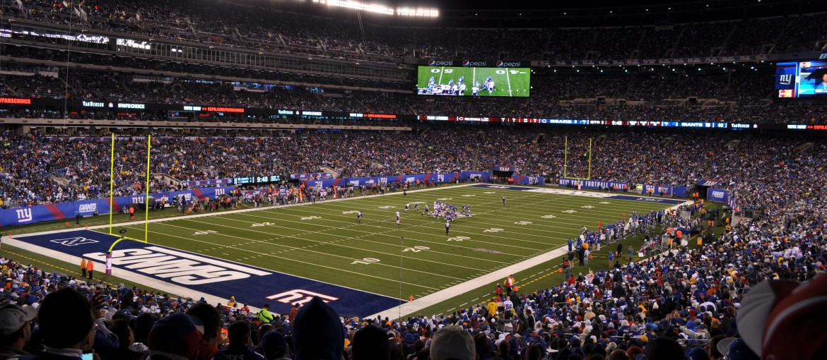 New York Giants på MetLife Stadium i New York, USA.