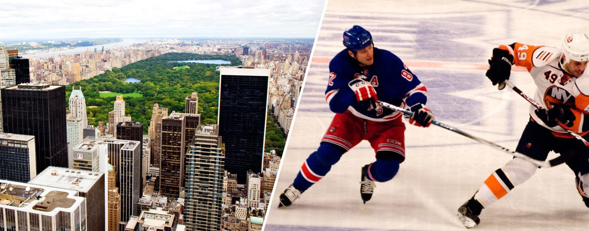 New York Rangers och Central Park