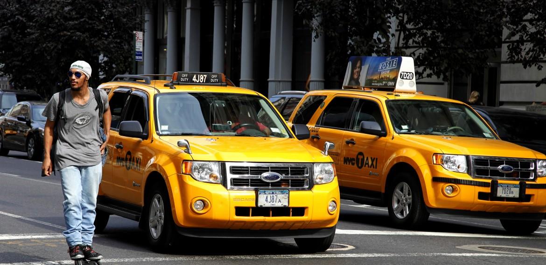 Taxibilar i New York, USA