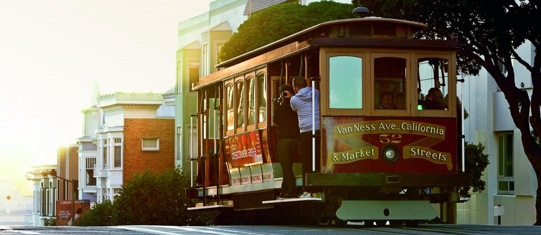 Spårvagn i San Francisco, USA