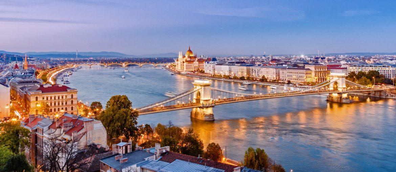 Sju länder och fem huvudstäder längs Donau