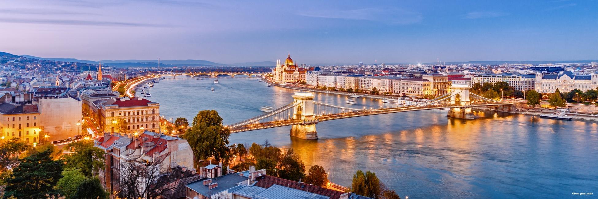 Karta Over Budapest Sevardheter.Flodkryssning Donau Tre Huvudstader Langs Donau Escape Travel