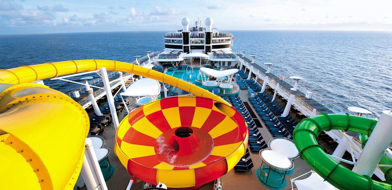 Aqua Park ombord på Norwegian Epic