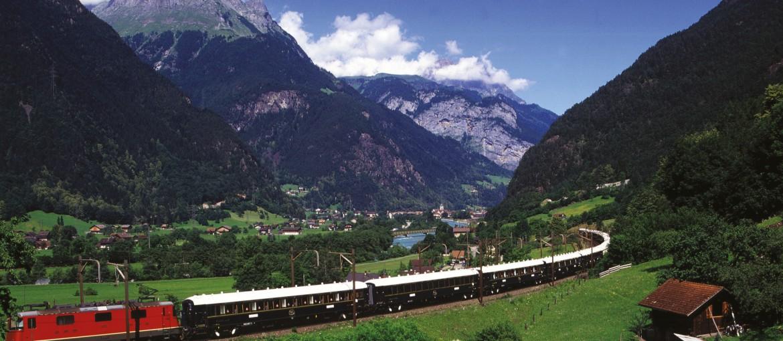 Orientexpressen i Alperna