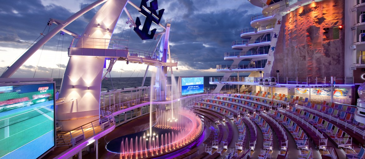 Aqua Theater på Allure of the Seas