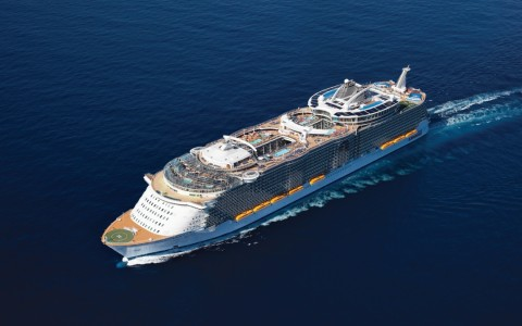 Oasis of the Seas kryssningsfartyg