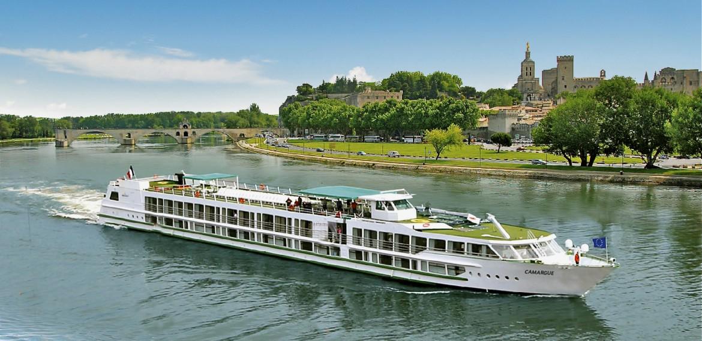 Flodkryssning längs Rhône och Saône