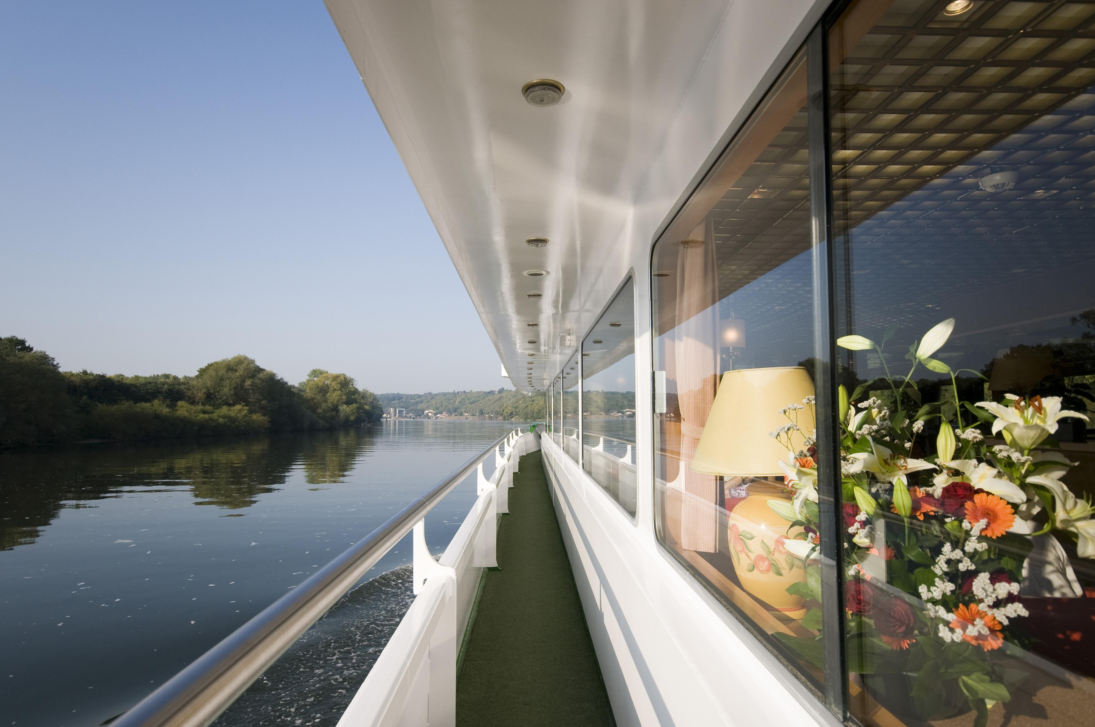 Flodkryssning på Seine