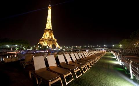 Flodkryssning i Paris