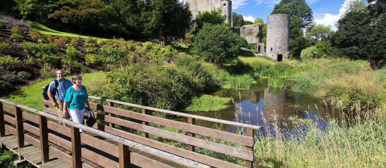 Blarney slott på Irland
