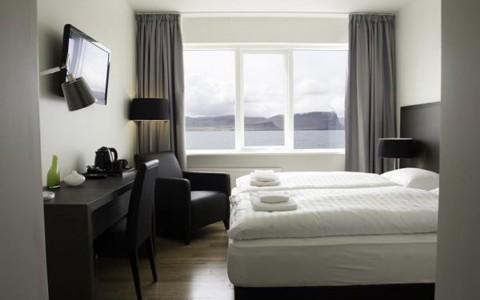 Fosshotel Westfjords, västra Island
