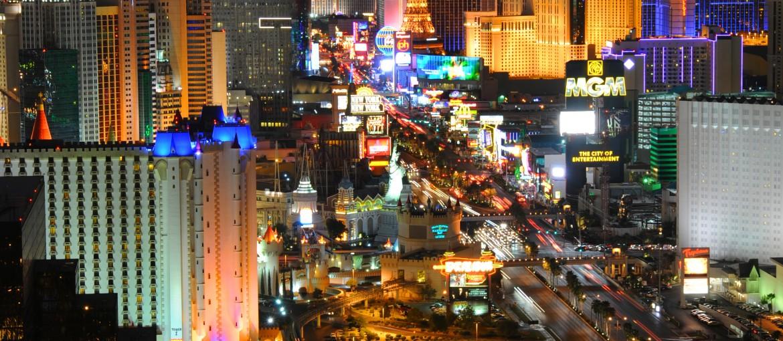 The Strip i Las Vegas, USA
