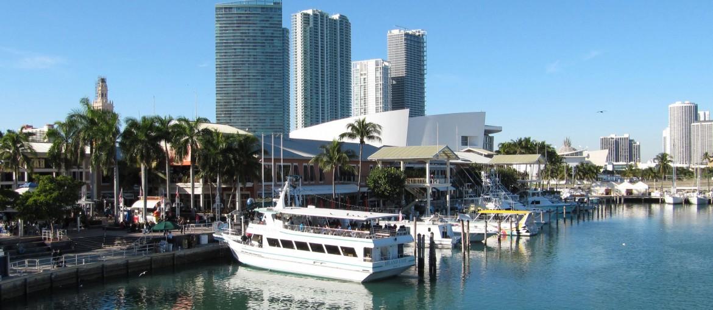 Miamis Bayside Marketplace, Florida, USA