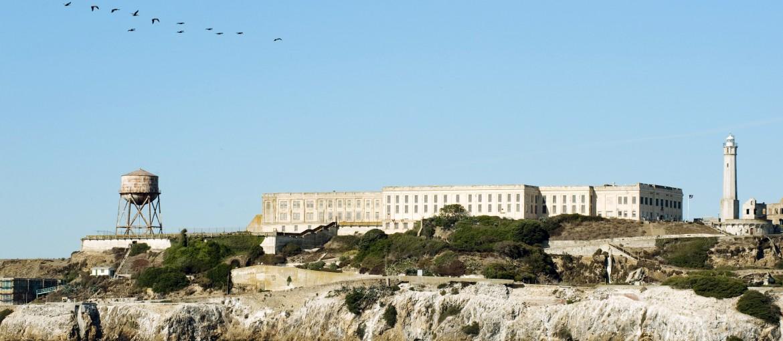 Alcatraz i San Franciso Bay, USA