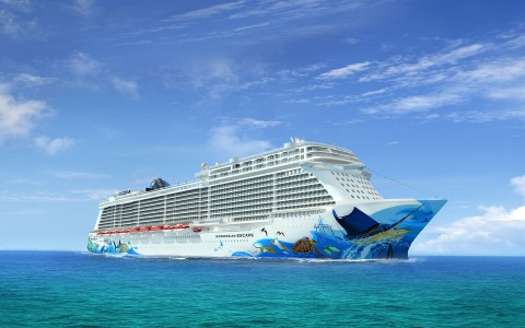 Kryssning med Norwegian Escape