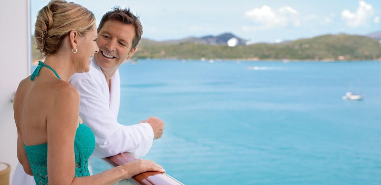 Balkong ombord på Norwegian Getaway