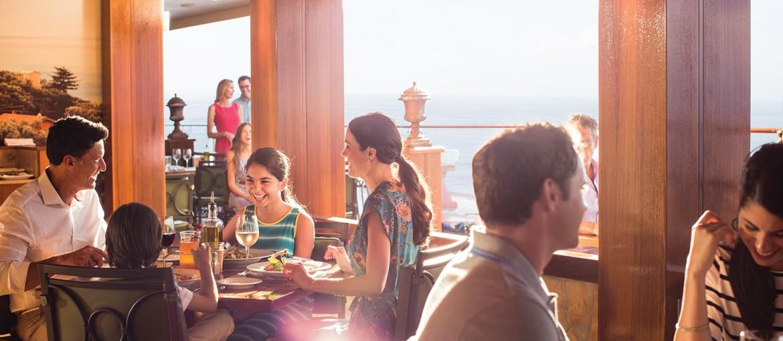 Restaurang La Cucina ombord på Norwegian Getaway/Escape