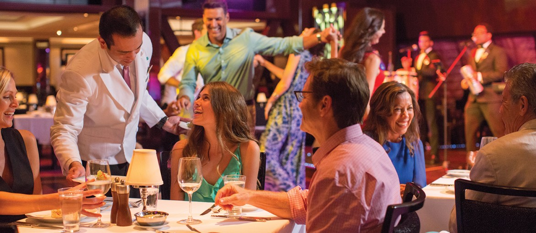 Restaurang Tropicana ombord på Norwegian Getaway