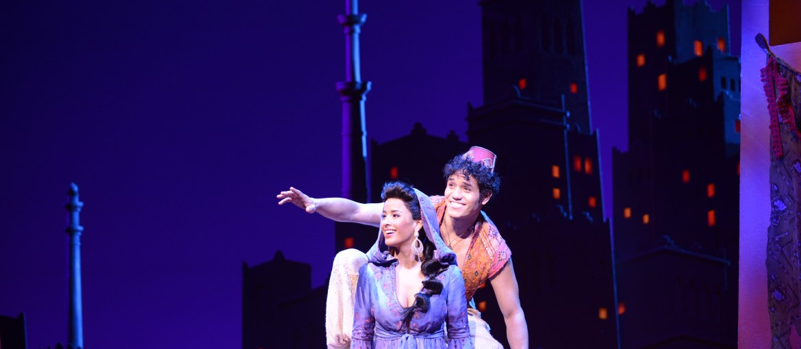 Aladdin på Broadway i New York