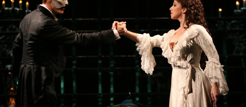 Phantom of the Opera på Broadway, New York