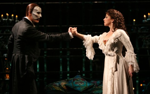 Phantom of the Opera på Broadway, New York
