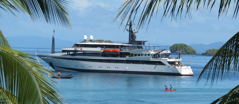 Variety Cruises fartyg Voyager i Costa Rica