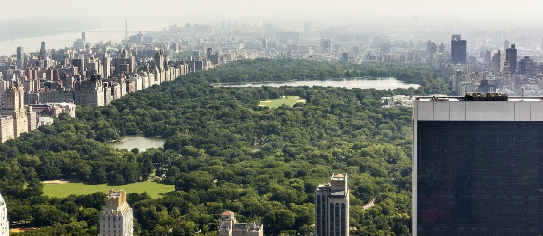 Central Park på Manhattan i New York, USA