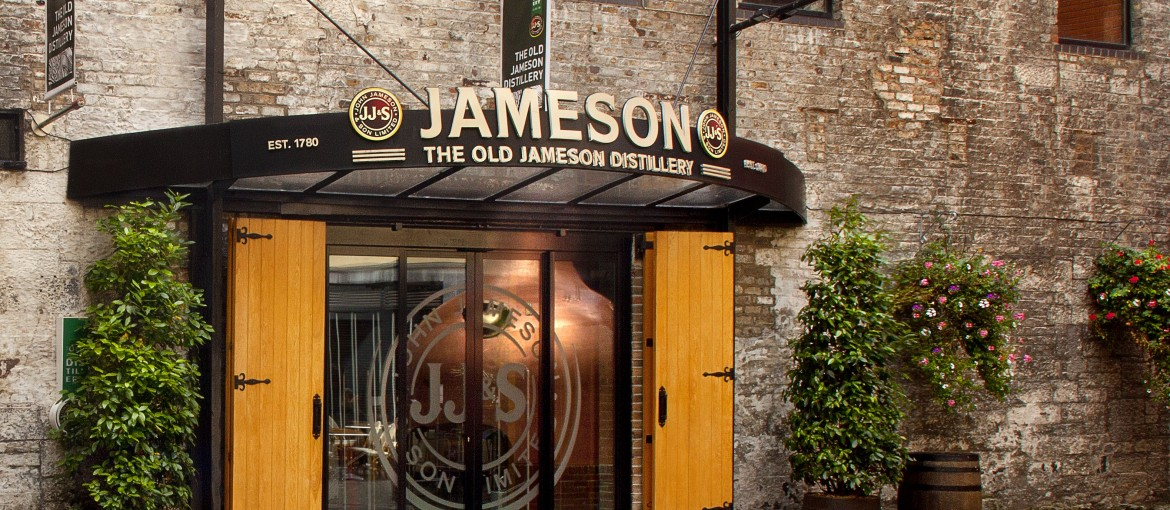 Old Jameson Distillery i Dublin, Irland