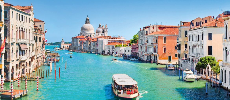 Flodkryssning på floden Po med Venedig