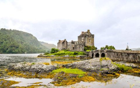 Eilean Donan Castle i Skottland