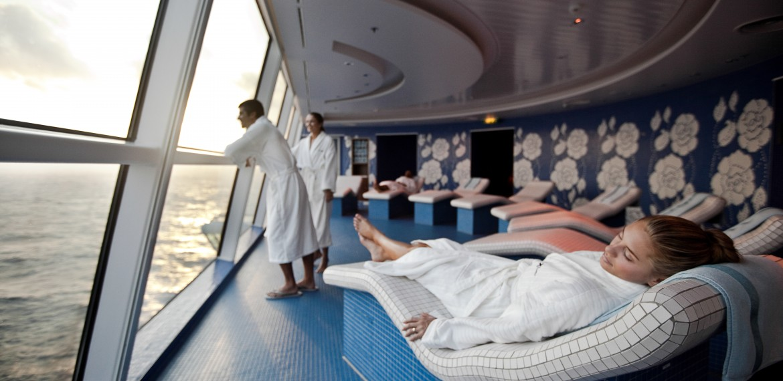 Persian Garden ombord på Celebrity Cruises fartyg
