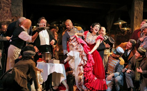 La Boheme, opera på Metropolitan Opera i New York