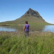 Kirkjufell på Snaefellsneshalvön, västra Island
