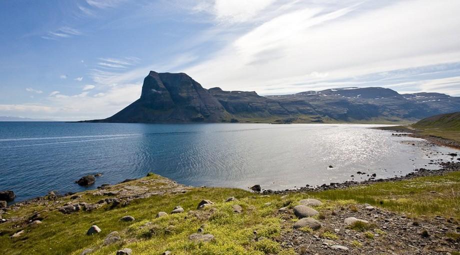 Västfjordarna på Island