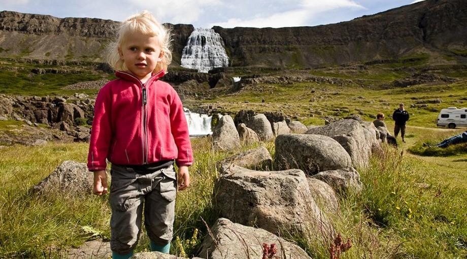 Dynjandifoss, Västfjordarna på Island