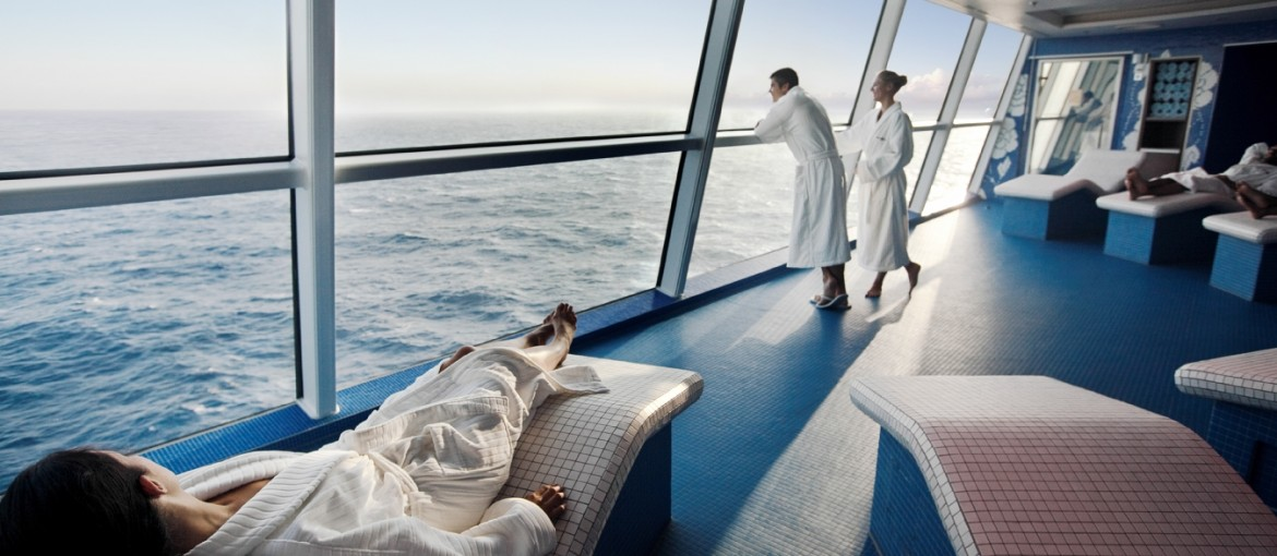 Spa ombord på Celebrity Solstice