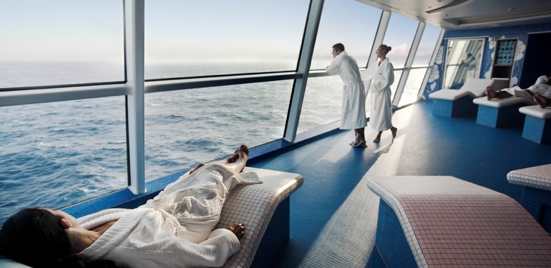 Spa ombord på Celebrity Solstice