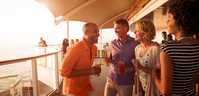Sunset Bar ombord på Celebrity