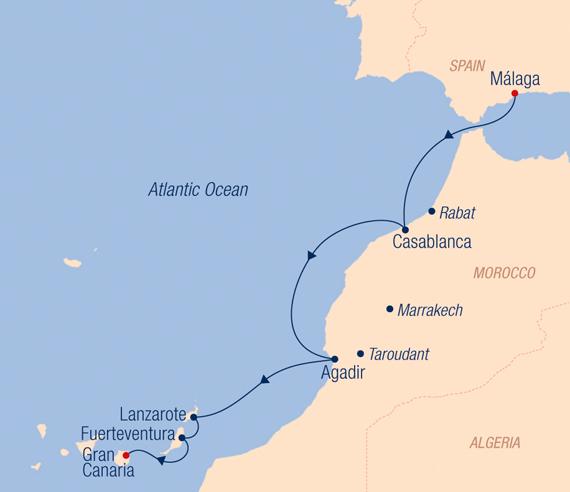Spanien Lanzarote Karta.Karta Lanzarote