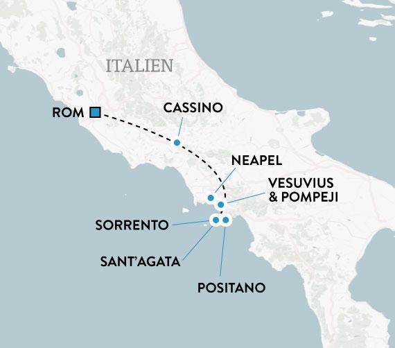 Mitt Amalfi Med Rom Guidad Resa Till Amalfikusten Escape Travel