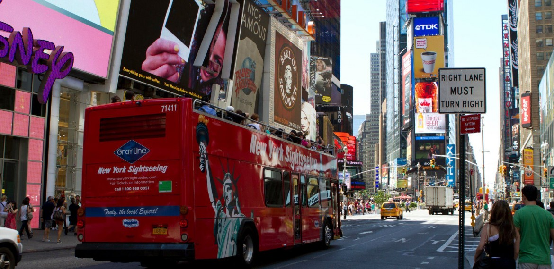 New York Hop on Hop off buss