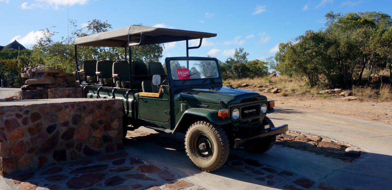 Safari i Sydafrika på Sebatana Rhino Lodge