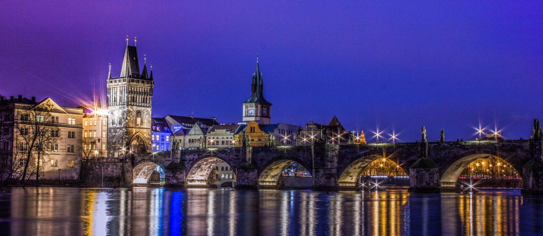 Vacker kväll i Prag, Tjeckien
